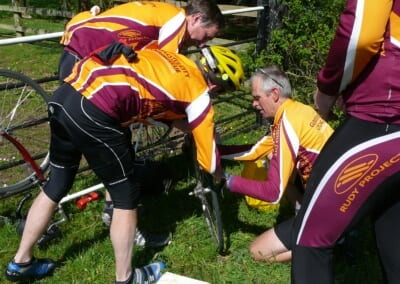 Puncture for Toby 1