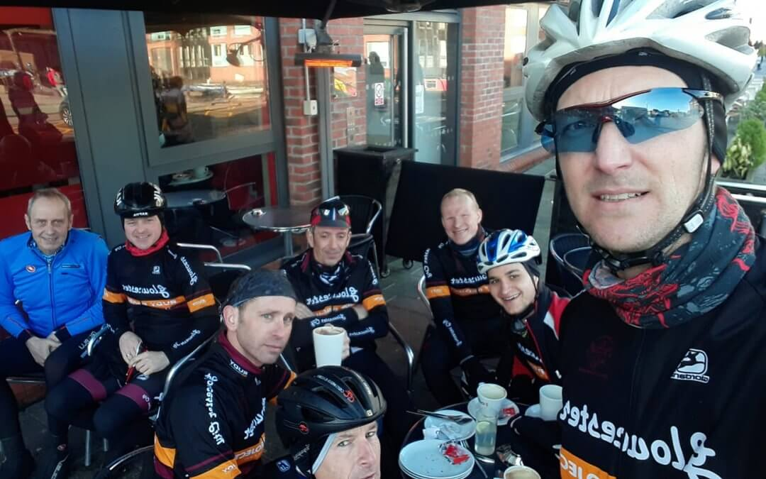 Sunday rides on 18th January, cold and clear