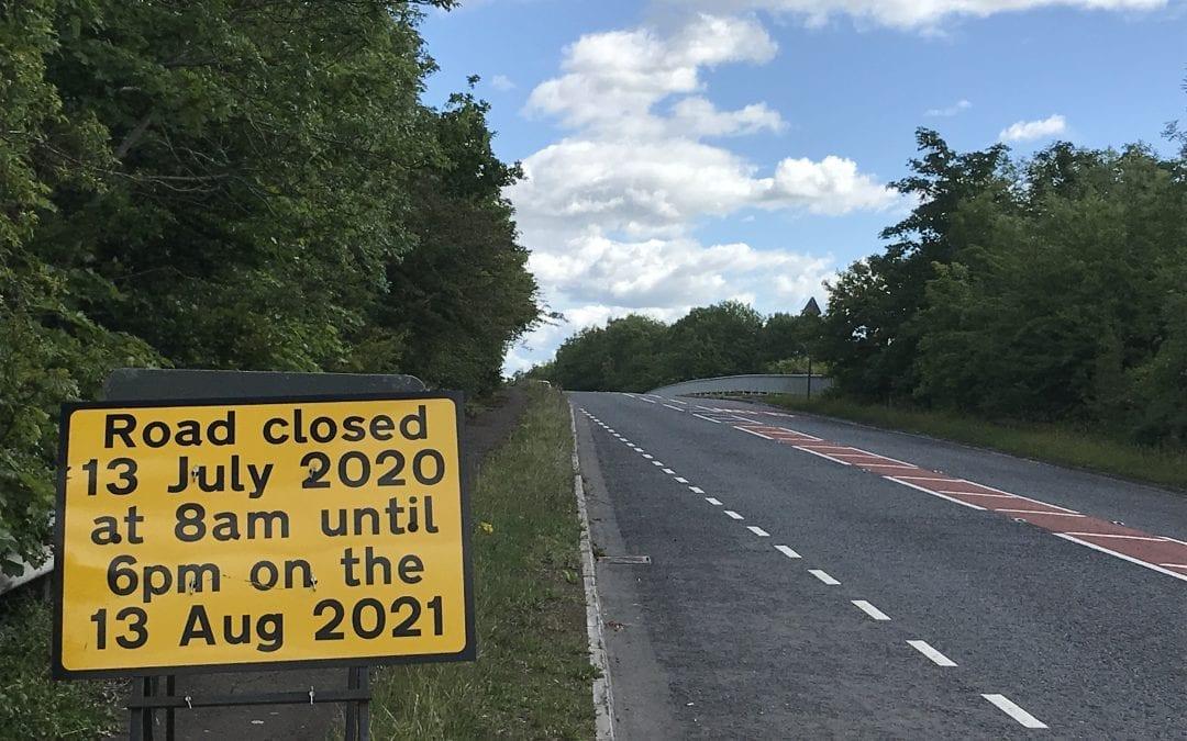 Bridge Closure at Staverton
