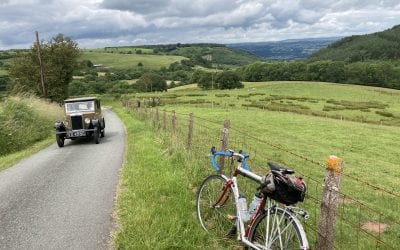 Black Mountains ride report